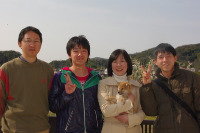 蘭ちゃん家族写真