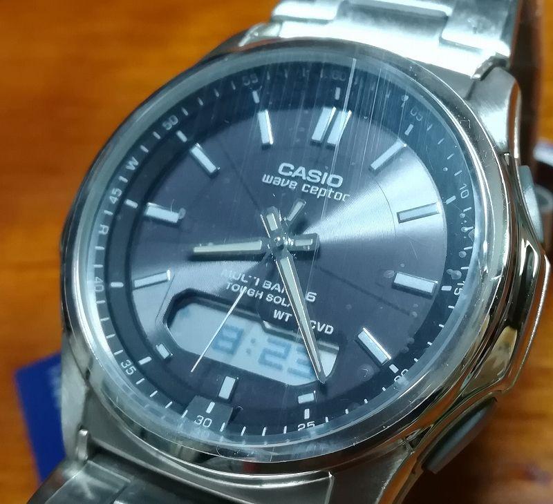 cef6a490e5 電波時計って、本当に使ってみて良さがわかります。電池交換がいらないソーラーバッテリーって言うのもとてもいいところです。