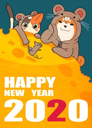 年賀2020mini