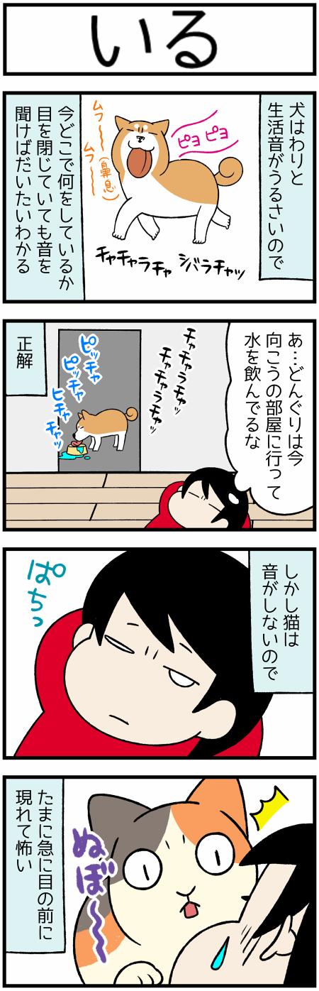 20201128犬と猫の生活音1