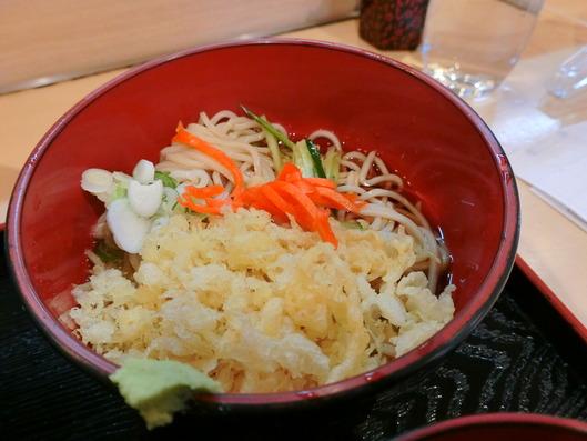 清元 ハーフ蕎麦