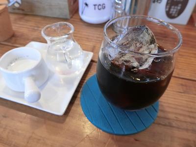 たまごcafeごはん アイスコーヒー