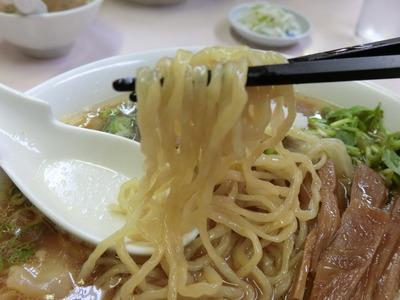 国味ラーメン 麺