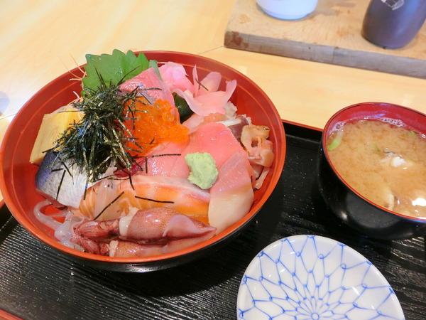 清元 海鮮丼