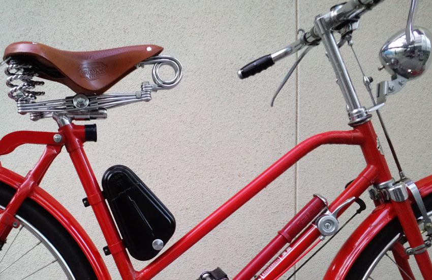 ... 自転車用フレーム取り付け工具