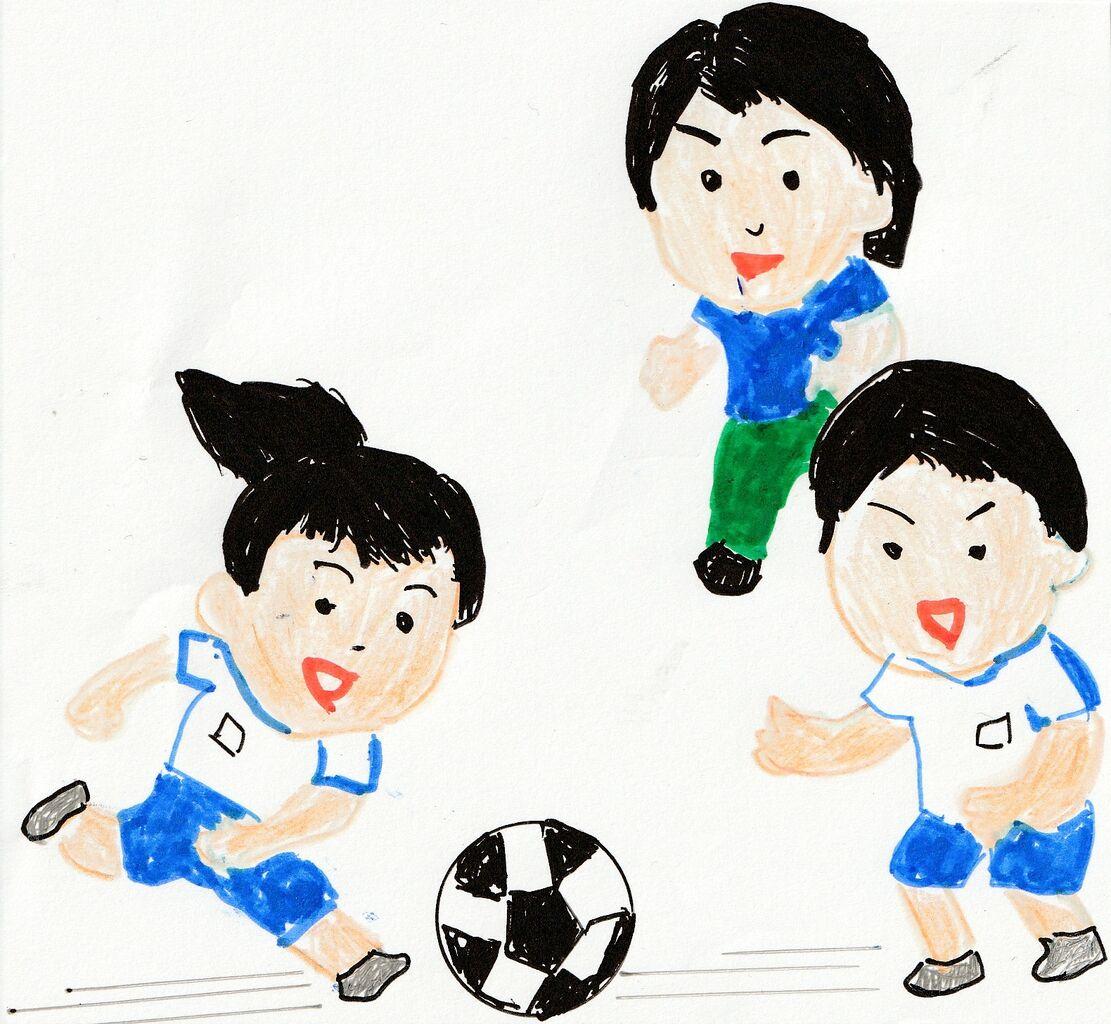 サッカー授業