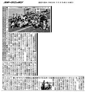 20181114スポーツニッポンweb