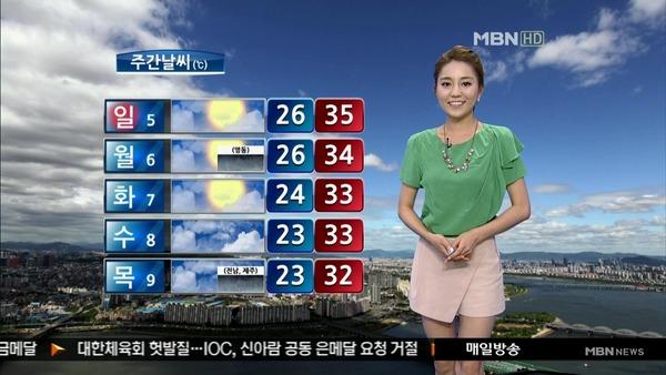 韓国のミニスカ女子アナウンサー (10)