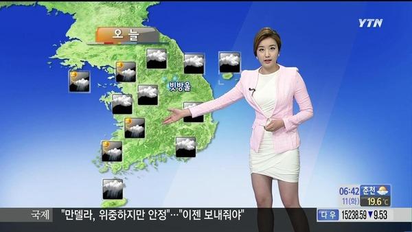 韓国のミニスカ女子アナウンサー (1)