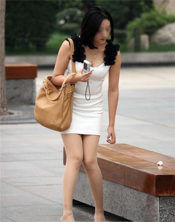 街撮りミニスカ&ショートパンツエロ画像 (39)