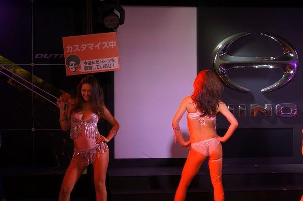 東京オートサロンの日野自動車コンパニオン (6)