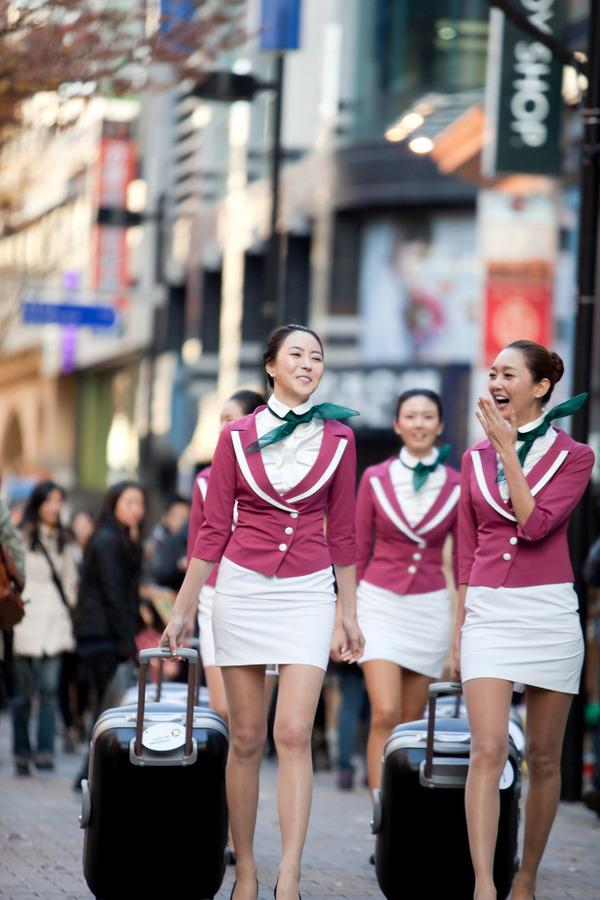 韓国のエロいキャビンアテンダントが話題に (6)