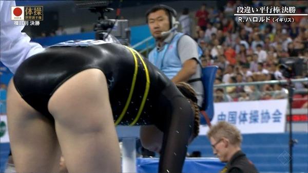 女子体操選手の食い込みエロ画像 (16)