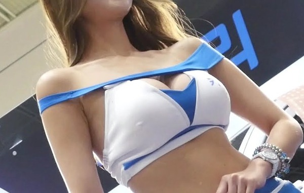 韓国の巨乳激エロコンパニオン (14)
