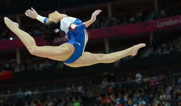 女子体操選手の食い込みエロ画像 (17)