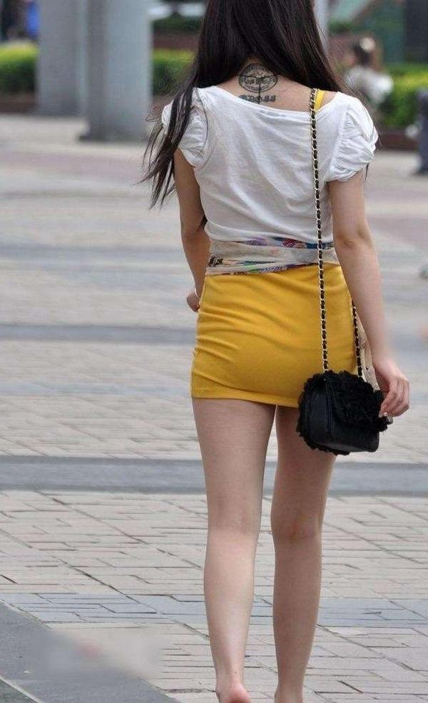 ムッチリ系ギャルの太腿がエロ過ぎる (6)