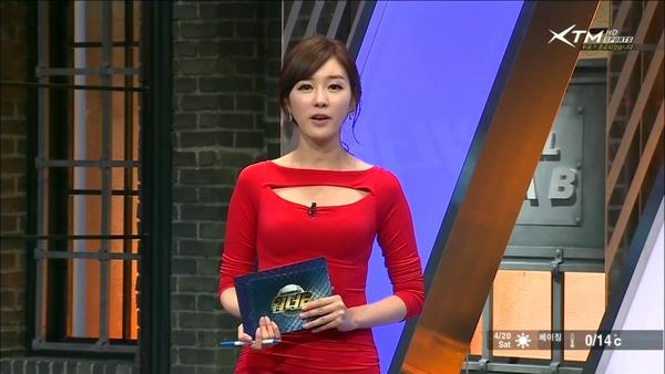 韓国の激エロ女子アナウンサー (36)