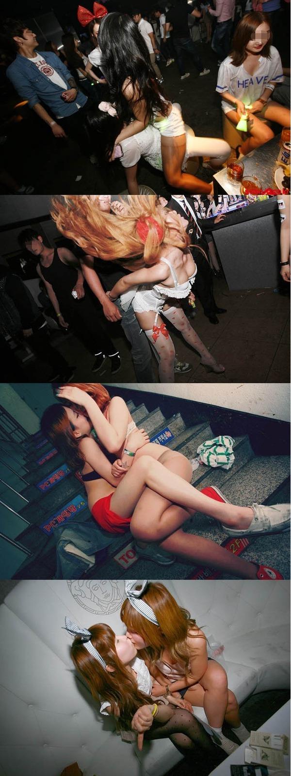 韓国のクラブはエロエロ解放区 (25)