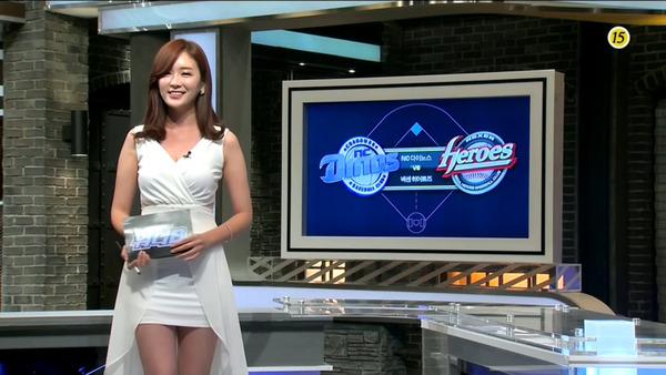 韓国の激エロ女子アナウンサー (27)