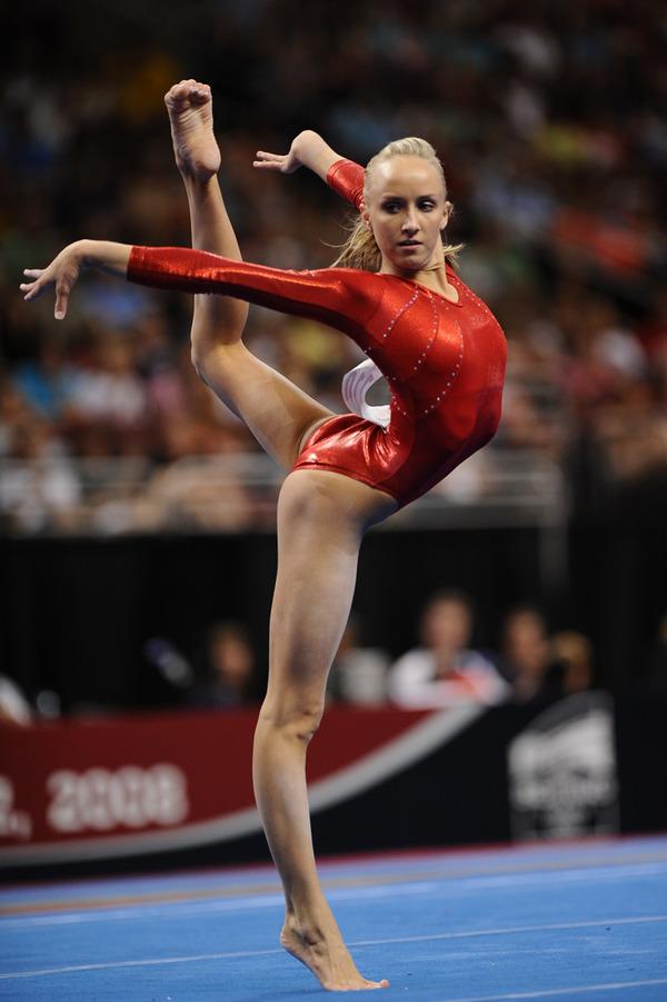 女子体操選手の食い込みエロ画像 (6)
