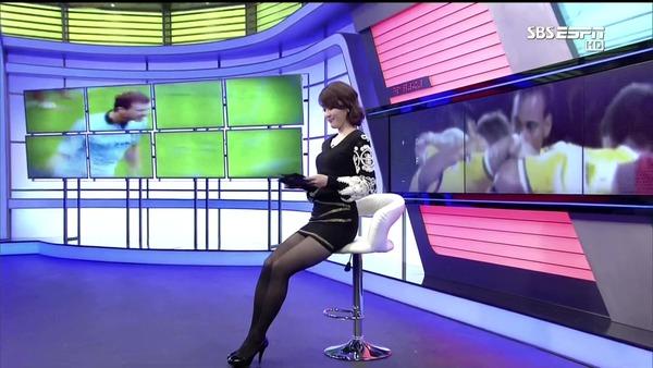 韓国の激エロ女子アナウンサー (9)