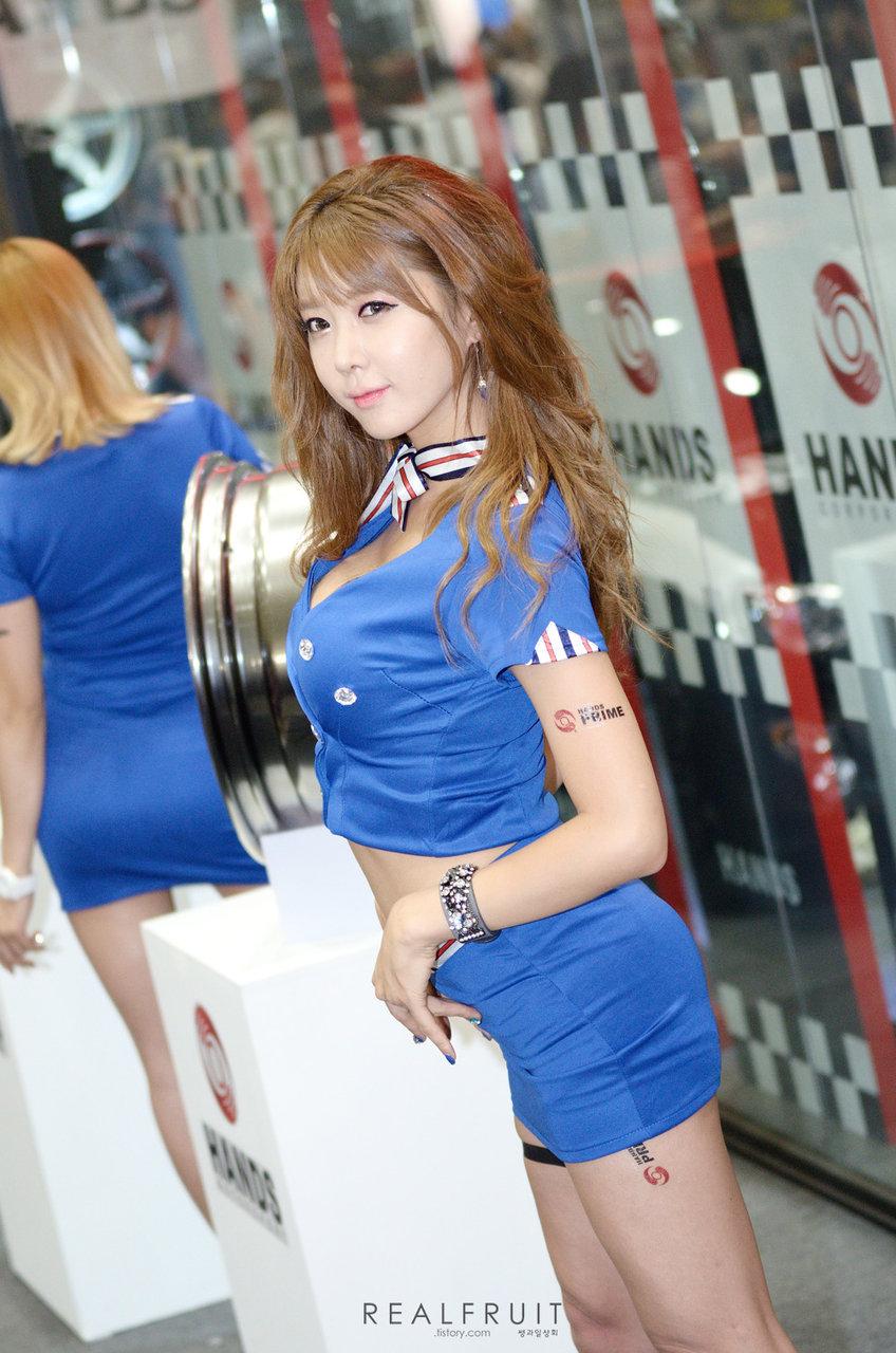 (韓国のえろ過ぎるコンパニオン)韓国のイベント会場は美巨乳でモデルなコンパニオンたちが鈴なり状態☆☆☆☆☆☆