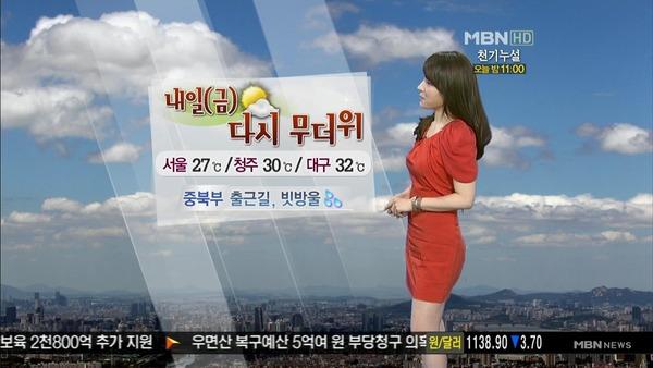 韓国のミニスカ女子アナウンサー (9)