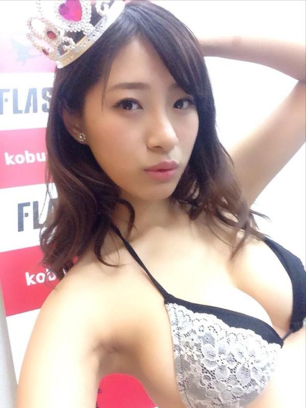 染谷有香のTwitterアカウント自撮りエロ写メがマジで抜ける (5)