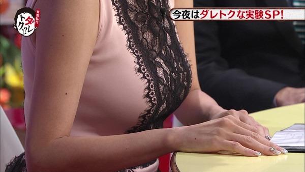 高橋真麻のEカップエロ巨乳が分かる着衣胸画像 (7)