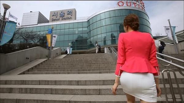 韓国のミニスカ女子アナウンサー (25)