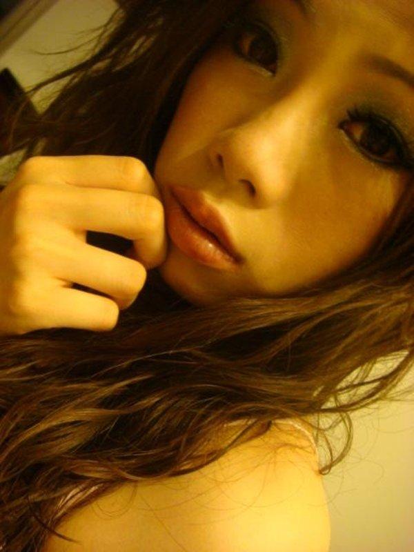 恋人募集中女性のおやすみ前の激エロ自画撮り写メ (5)