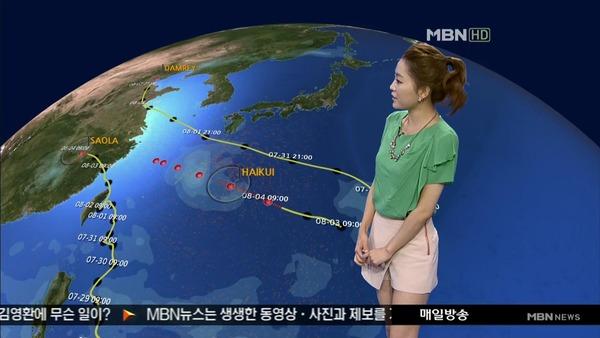 韓国のミニスカ女子アナウンサー (8)