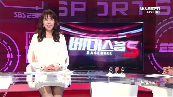 韓国の激エロ女子アナウンサー (18)