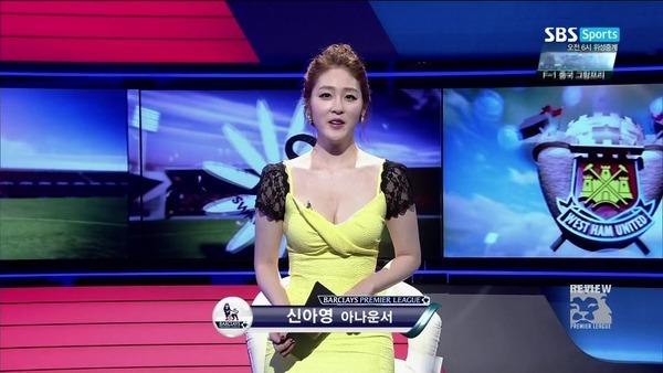 韓国の激エロ女子アナウンサー (13)