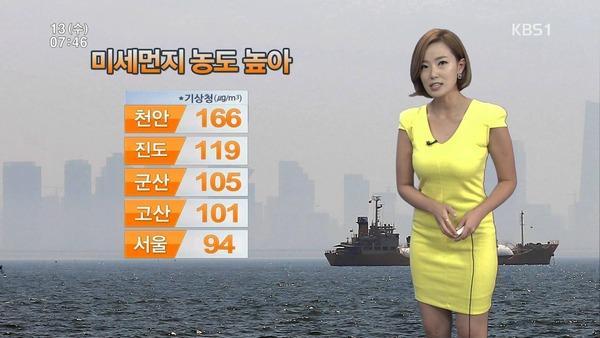 韓国の激エロ女子アナウンサー (7)