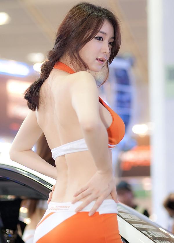 激エロ韓国の巨乳コンパニオン イムジへ (37)