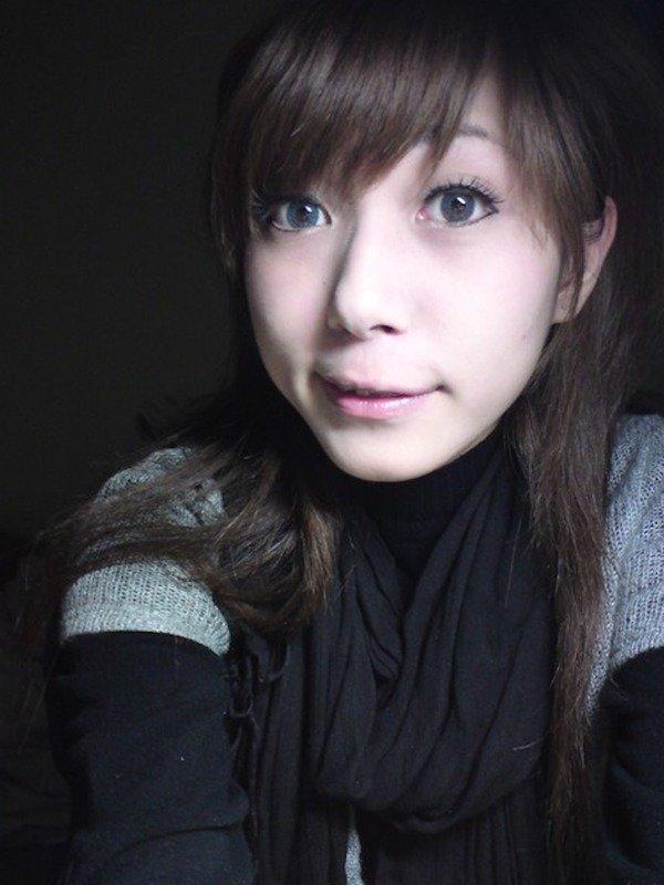 アパートのお部屋を覗く感じで♪女子大生自撮り写メ007