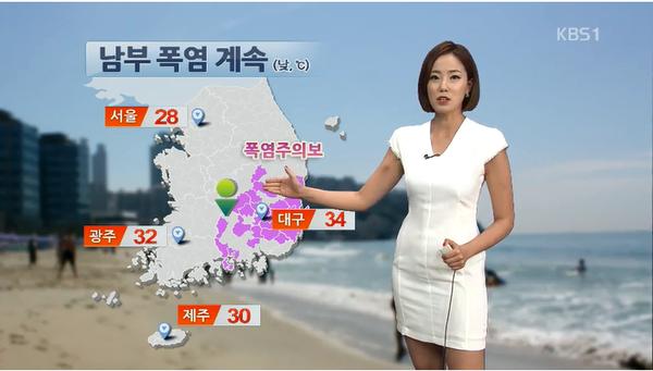 韓国の激エロ女子アナウンサー (1)