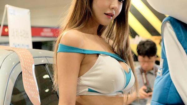 韓国の巨乳激エロコンパニオン (10)