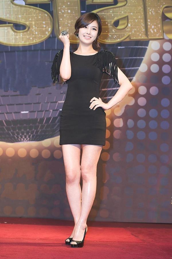 韓国の激エロ女子アナウンサー (2)