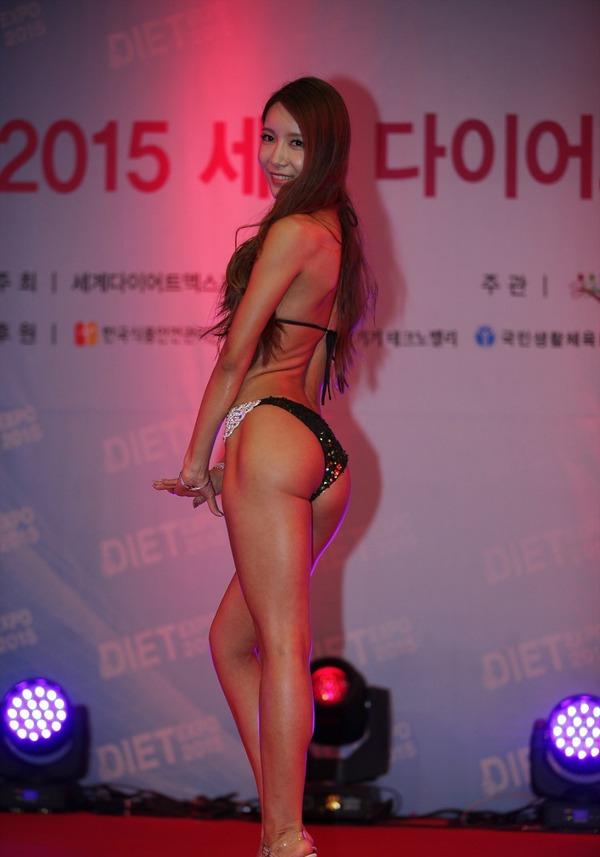 韓国の激エロ女性ボディビルダーたち (8)