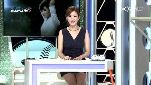 韓国の激エロ女子アナウンサー (24)