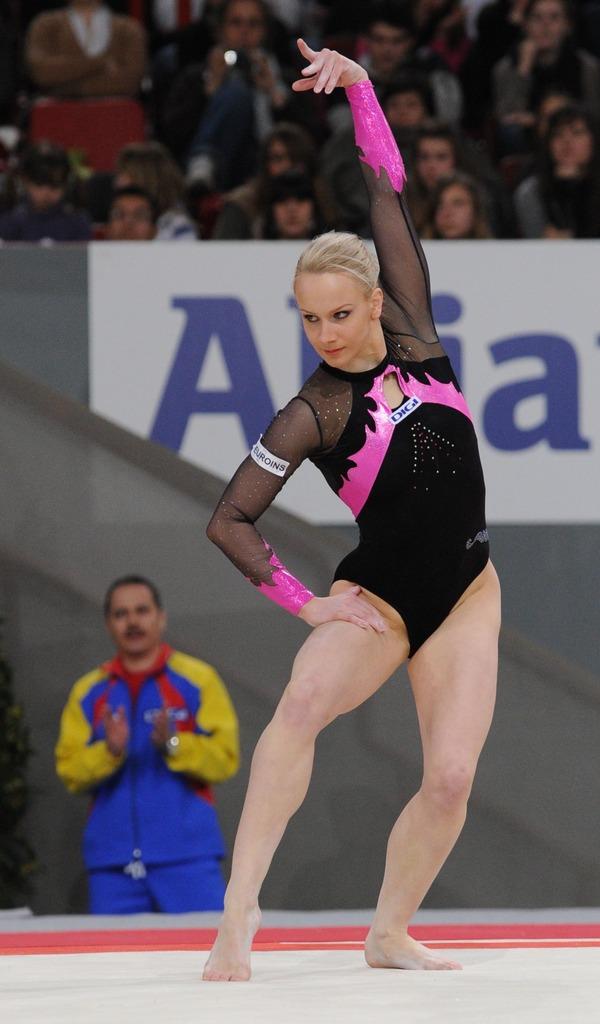 女子体操選手の食い込みエロ画像 (25)