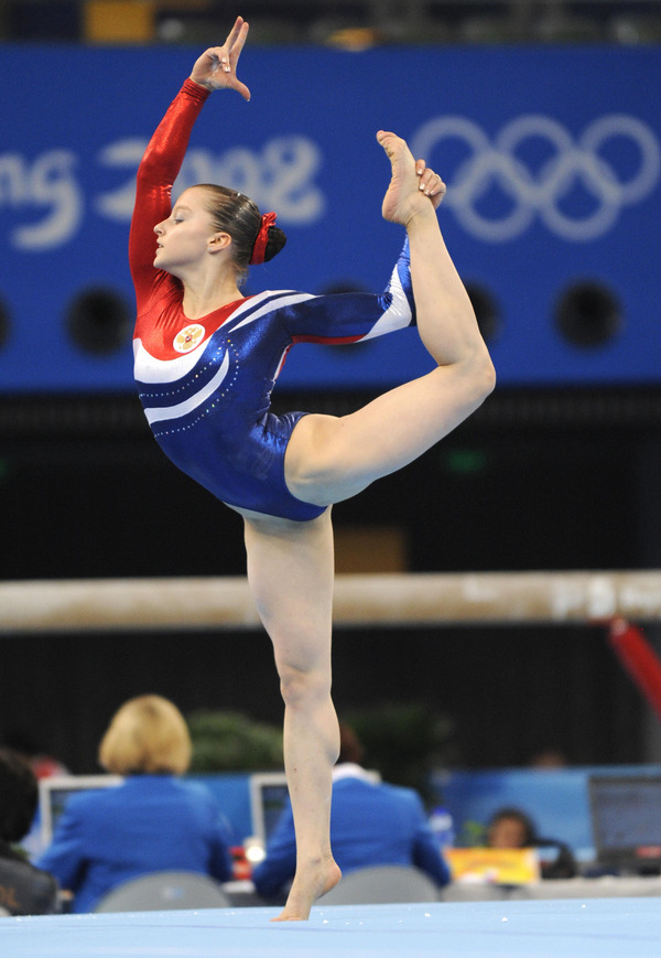 女子体操選手の食い込みエロ画像 (4)