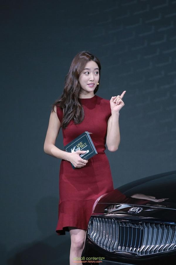 韓国の人気巨乳女子アナウンサー (9)