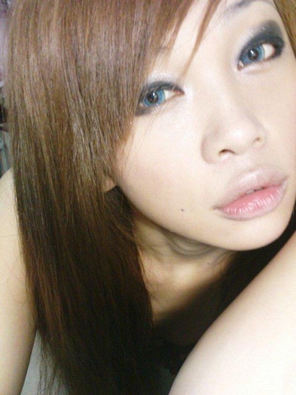 下着姿の写メ 札幌在住のスレンダーなエロギャル (19)