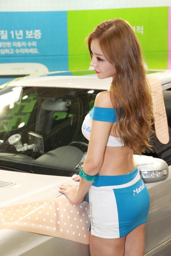 韓国の巨乳激エロコンパニオン (34)
