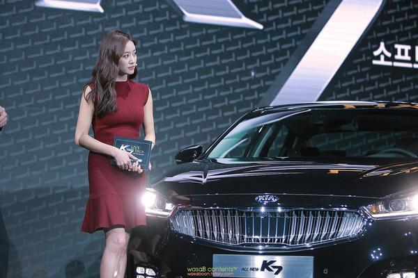 韓国の人気巨乳女子アナウンサー (11)