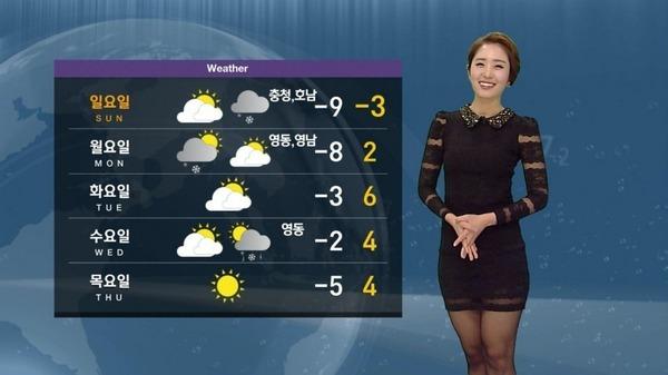 韓国のミニスカ女子アナウンサー (4)