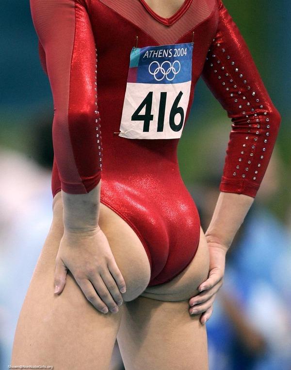 女子体操選手の食い込みエロ画像 (26)